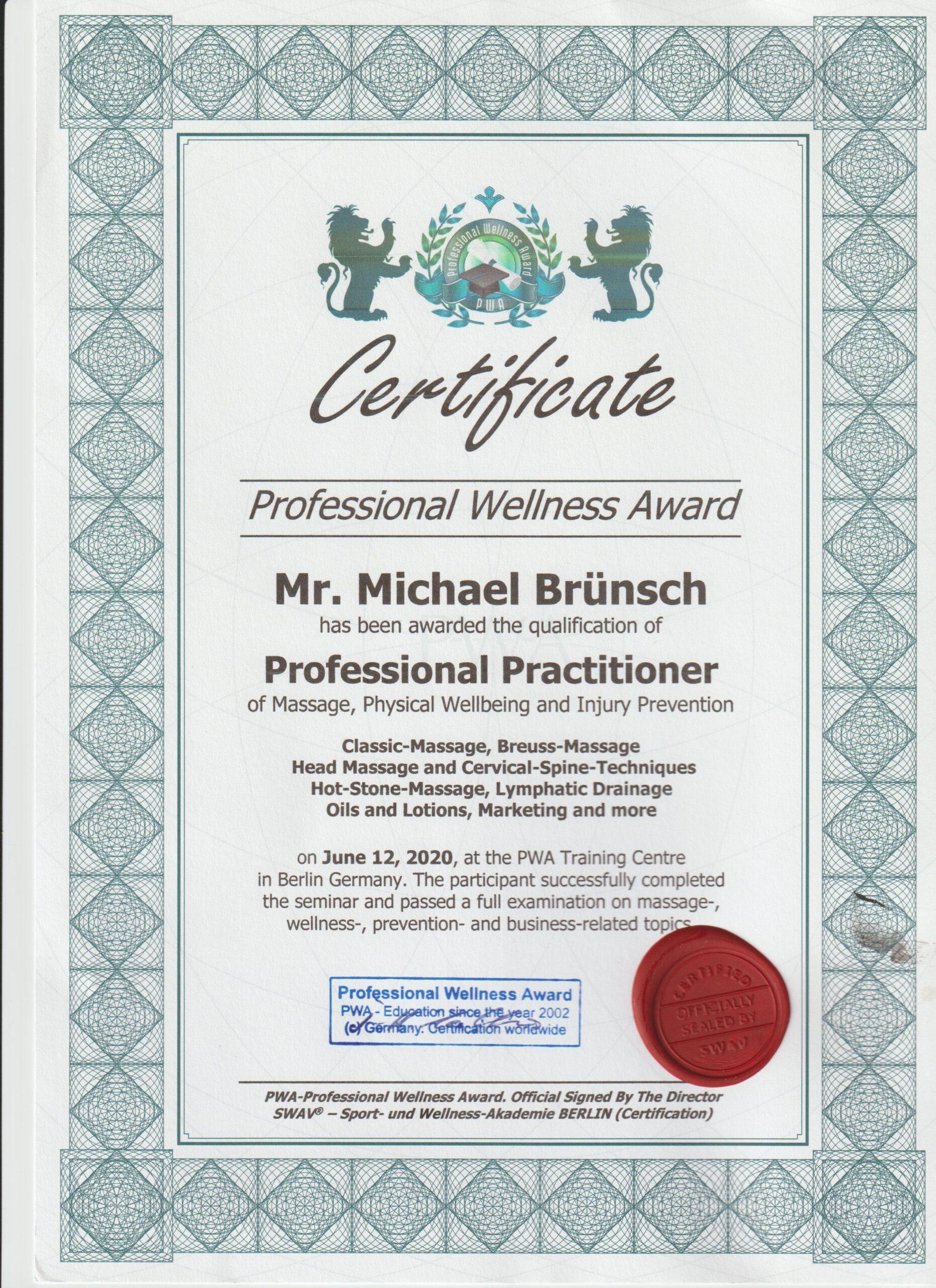 Massage erfahrung federleicht Woher weiß